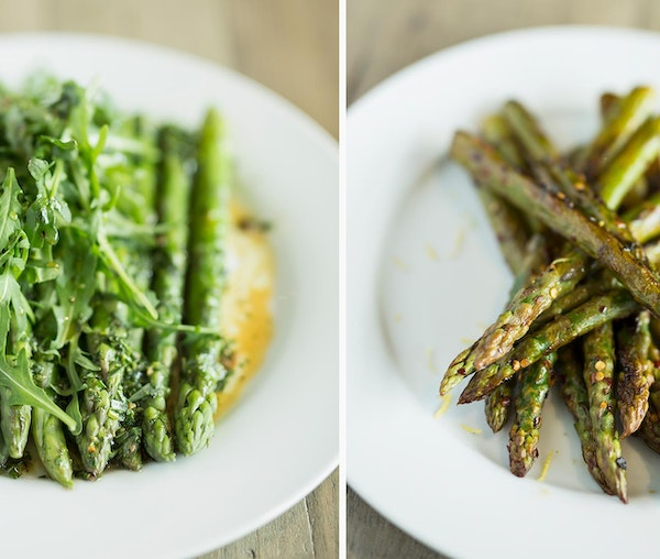 Barfoots recipe Asparagus two ways by Nina Parker