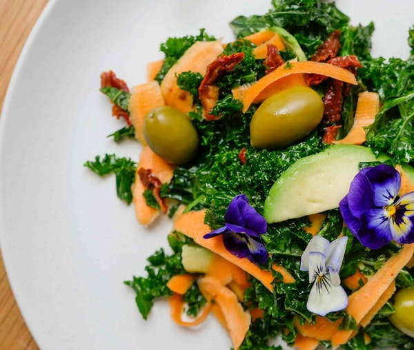 Barfoots hearty kale salad by Tanya Maher