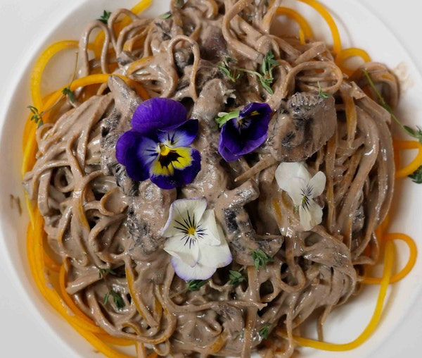 Barfoots 'Never Miss Meat' Stroganoff with Butternut Noodles by Tanya Maher