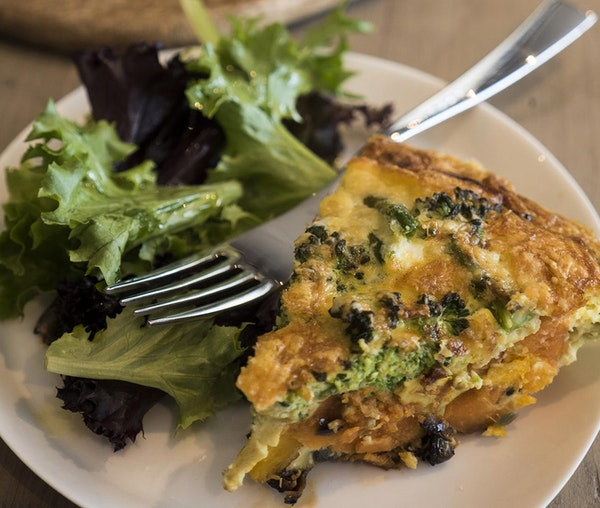 Superfood frittata by Cee May in the Barfoots development kitchen